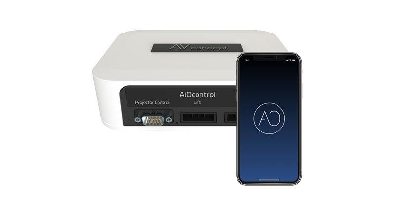 Système de pilotage Home Cinema par application smartphone
