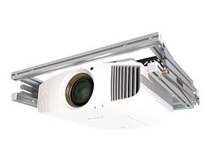 Support motorisé vidéoprojecteur pour home cinema discret invisible