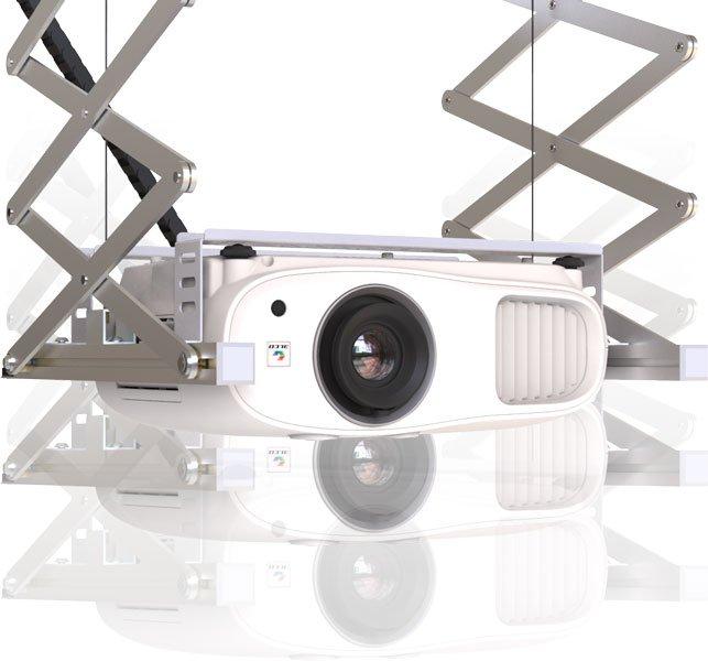 Support motorisé pour videoprojecteur