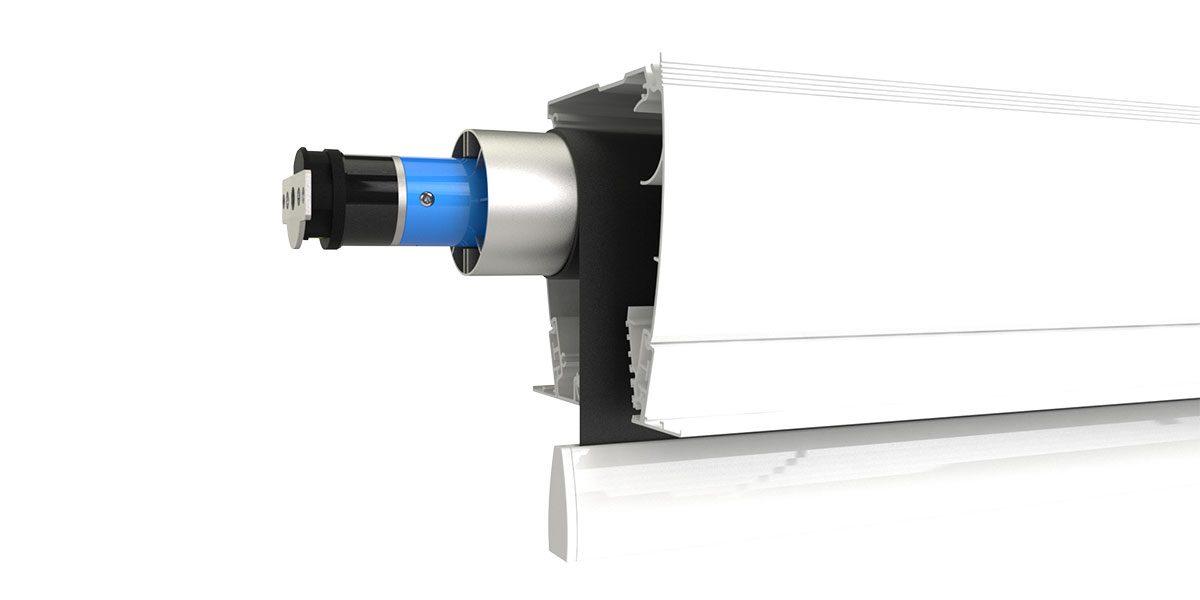 Ecran projection electrique