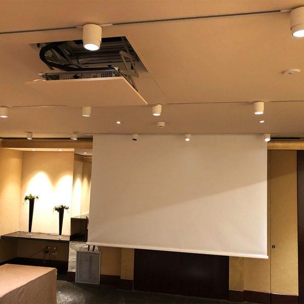 Home Cinema salle réception