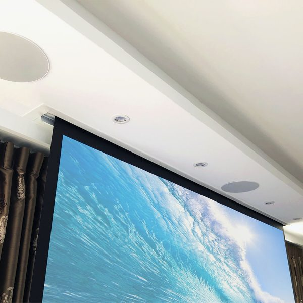 Enceintes Home Cinema plafond