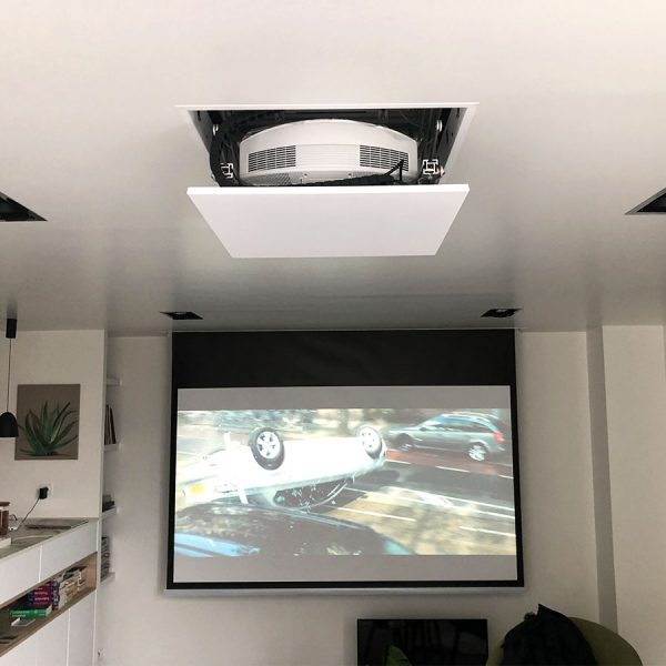 Home Cinema discret