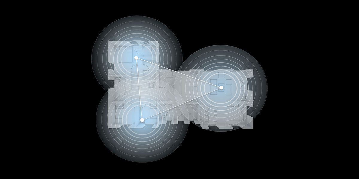Réseau wifi mesh maison